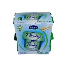 Pack fromage frais nature Perly 8x85g